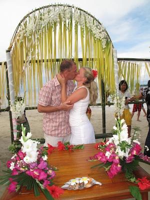 ブナケン島ロマンティックウェディング