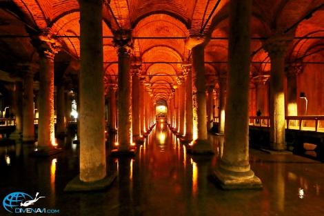 トルコ Basilica Cistern_MG_6349
