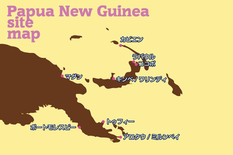 パプアニューギニアのダイビング...